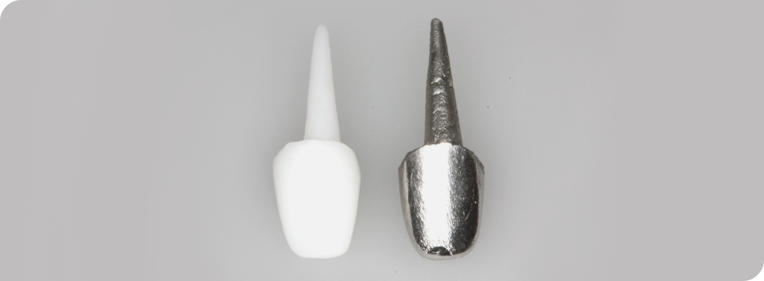Восстановление разрушенных зубов коронками
